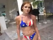 All American Girl Gets Fucked Hard
